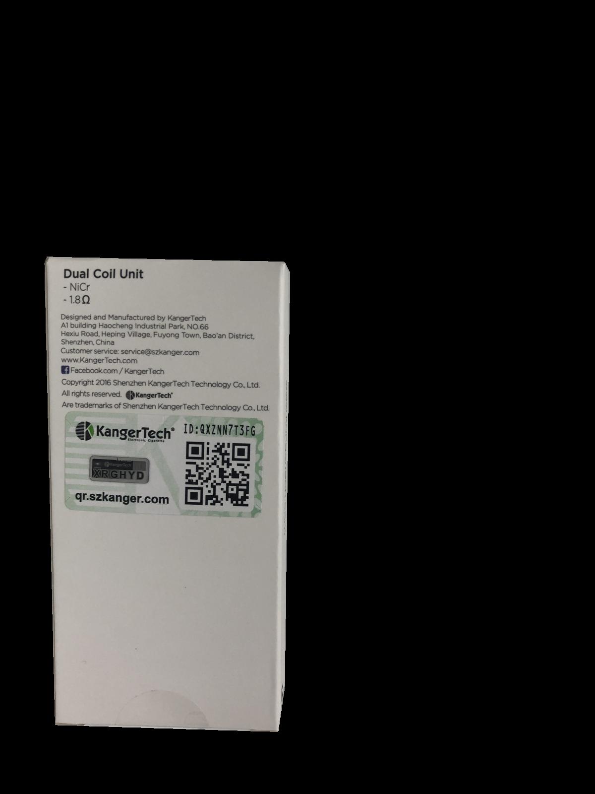 Dual Coil 1.8ohm - Box