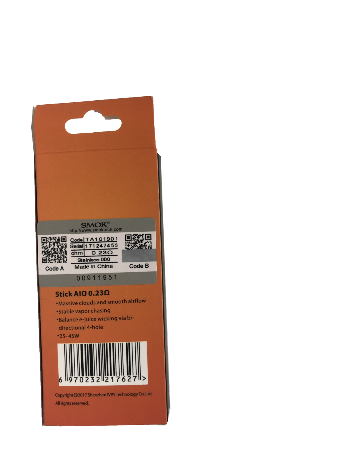 Smok AIO 0.23ohm - Box